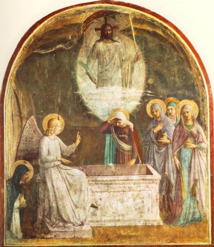 Resurrection of Christ and Women at the Tomb, 1440-1441 by Frà Angelico