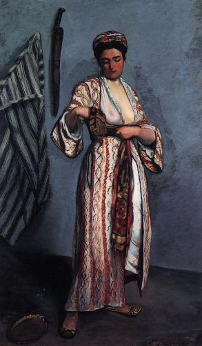Mauresque (Woman in a Moorish Costume), 1869 by Frédéric Bazille