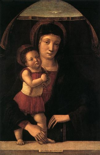 Madonna with the Child, 1450-1455 by Giovanni Bellini