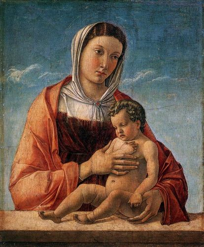 Madonna with the Child, 1460-1464 by Giovanni Bellini