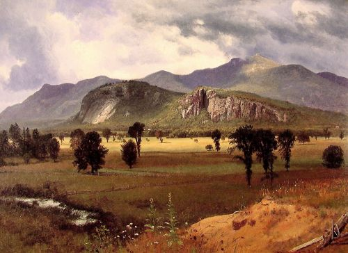 Moat Mountain Intervale, New Hampshire, 1862 by Albert Bierstadt