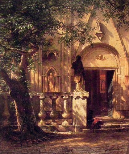 Sunlight and Shadow, 1862 by Albert Bierstadt