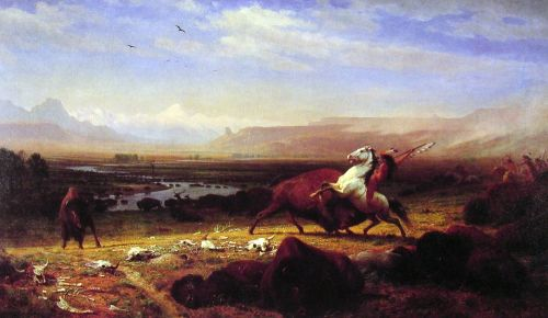 The Last of the Buffalo, 1888 by Albert Bierstadt