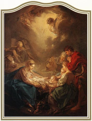 Adoration of the Shepherds, 1750 by François Boucher