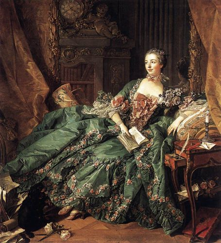 Portrait of Marquise de Pompadour, 1756 by François Boucher