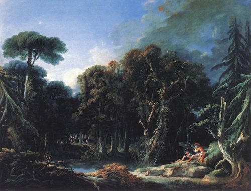 The Forest, 1740 by François Boucher