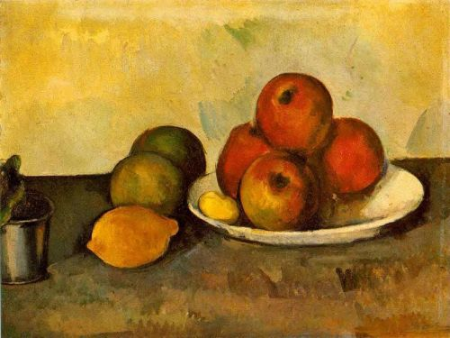 Still Life with Apples, 1890 by Paul Cézanne