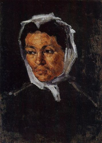 The Artist's Mother, 1866-1867 by Paul Cézanne