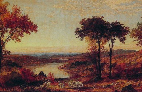 Wyoming Valley, Pennsylvania by Jasper Francis Cropsey