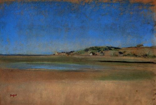 Houses by the Seaside, 1869 by Edgar Degas