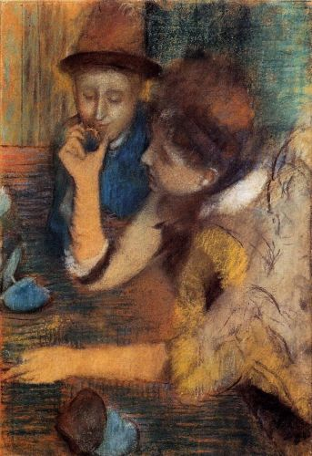 The Jewels, 1886 by Edgar Degas