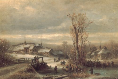 Muhle an Der Sempt in Oberbayern by Anton Doll