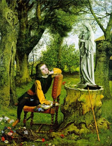 Titian's First Painting by William Dyce