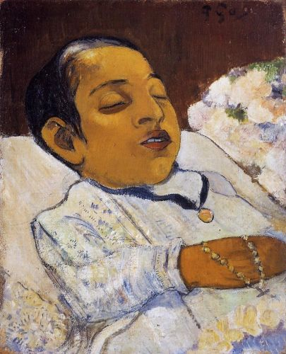 Atiti, 1891 by Paul Gauguin