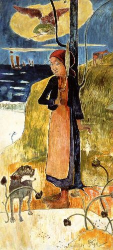 Joan of Arc, 1889 by Paul Gauguin