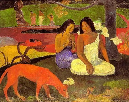 Joyousness, 1892 by Paul Gauguin