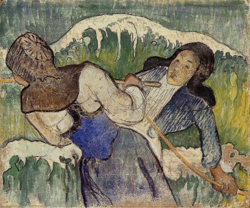 Kelp Gatherers, 1890 by Paul Gauguin