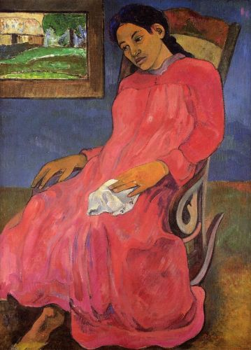 Melancholy, 1891 by Paul Gauguin