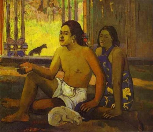 Not Working, 1896 by Paul Gauguin