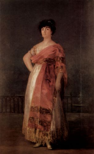 La Tirana by Francisco Goya