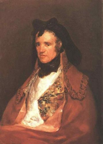 Pedro Mocarte by Francisco Goya