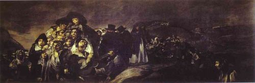 The Pilgrimage to San Isadore by Francisco Goya