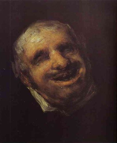 Tio Paquete by Francisco Goya