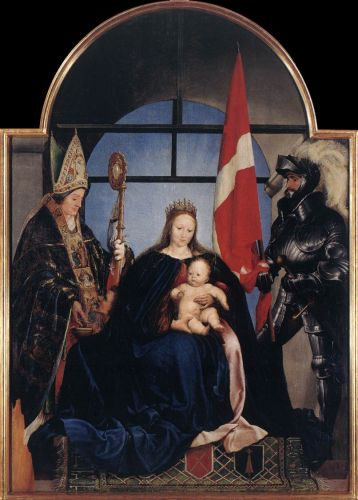 The Solothurn Madonna by Hans Il Giovane Holbein