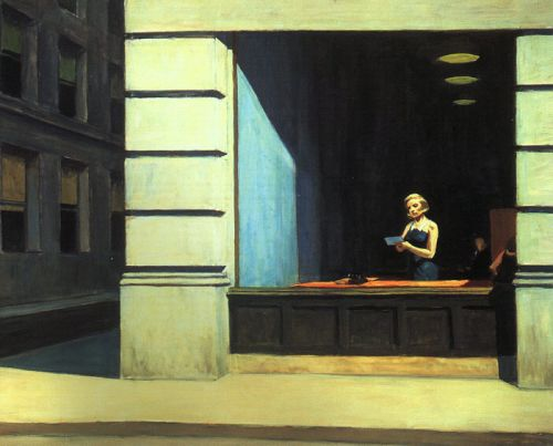 New York Office by Edward Hopper