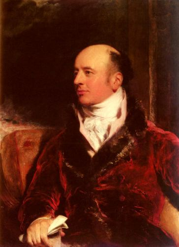 Portrait Of James Perry by Thomas Lawrence