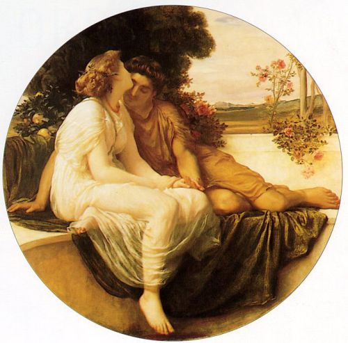 Acme and Septimus by Frederick Leighton