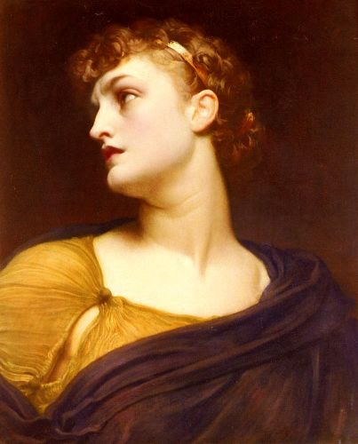 Antigone by Frederick Leighton
