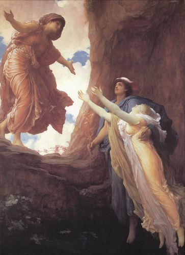 Return of Persephone by Frederick Leighton