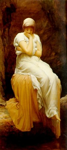 Seated by Frederick Leighton