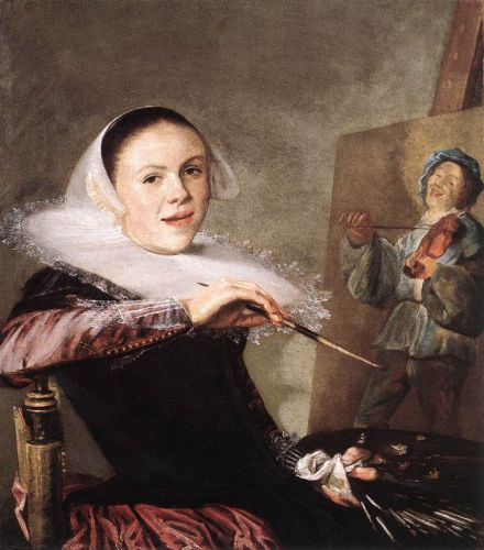 Self-Portrait by Judith Leyster