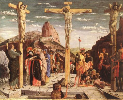 Crucifixion by Andrea Mantegna