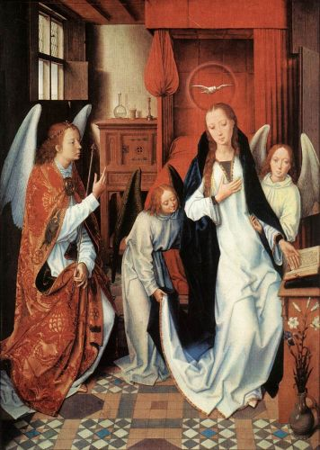 Annunciation by Hans Memling