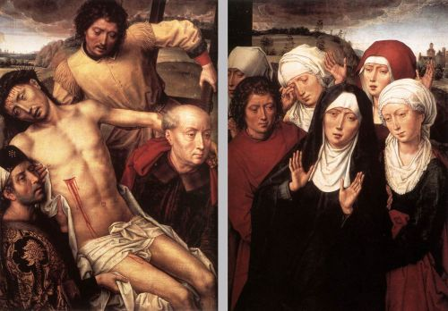 Diptych with the Deposition by Hans Memling