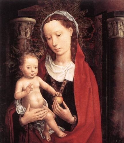 Standing Virgin and Child by Hans Memling
