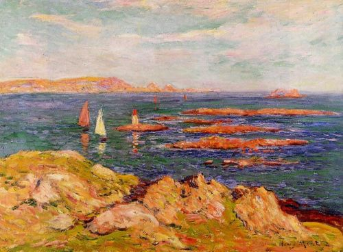 By the Sea by Henri Moret