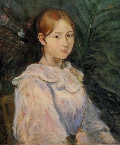 Bust of Alice Gamby, 1890 by Berthe Morisot