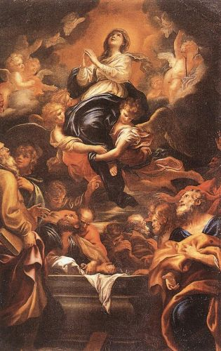 Assumption of the Virgin by Domenico Piola