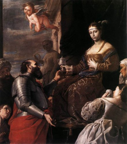 Sophonisba Receiving the Goblet by Mattia Preti