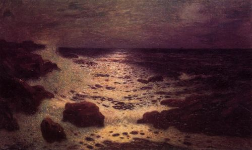 Moonlight on the Sea and the Rocks by Ferdinand Loyen Du Puigaudeau