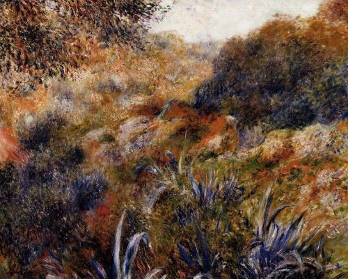 Algerian Landscape (The Ravine of the Wild Women), 1881 by Pierre-Auguste Renoir