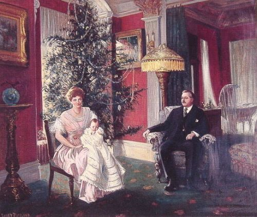 Christmas Morning by Harry Herman Roseland