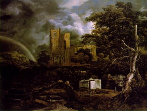 Jewish Cemetery by Jacob Isaakszoon van Ruysdael