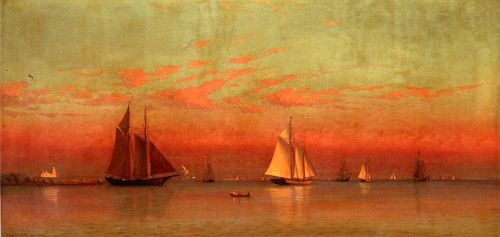 Evening in Gloucester Harbor by Francis Silva