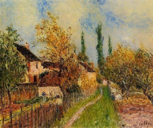 Path at Sablons, 1883 by Alfred Sisley