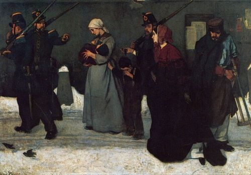 What is called Vagrancy by Alfred Stevens